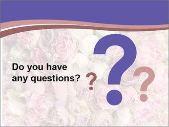 Wedding bouquet with rose bush PowerPoint Templates - Slide 96