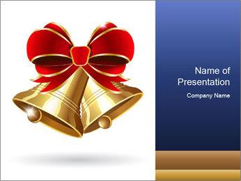 Jingle bells PowerPoint Templates - Slide 1