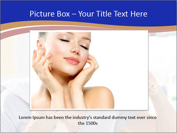 Woman brushing her teeth PowerPoint Templates - Slide 15
