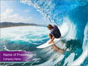 Surfer PowerPoint Template