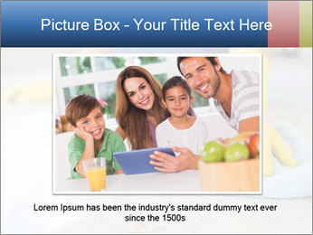 Woman cleaning kitchen PowerPoint Template - Slide 16