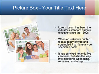 Woman cleaning kitchen PowerPoint Template - Slide 20