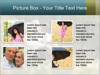 Happy old people sitting PowerPoint Template - Slide 14