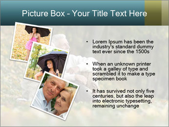 Happy old people sitting PowerPoint Template - Slide 17