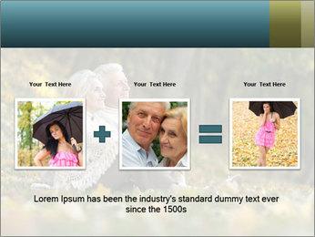 Happy old people sitting PowerPoint Template - Slide 22