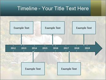 Happy old people sitting PowerPoint Template - Slide 28