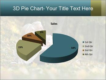Happy old people sitting PowerPoint Template - Slide 35