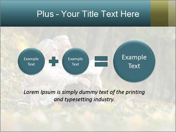 Happy old people sitting PowerPoint Template - Slide 75