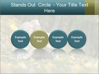 Happy old people sitting PowerPoint Template - Slide 76