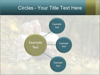 Happy old people sitting PowerPoint Template - Slide 79