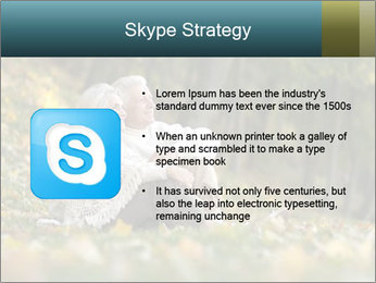 Happy old people sitting PowerPoint Template - Slide 8