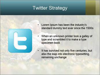 Happy old people sitting PowerPoint Template - Slide 9