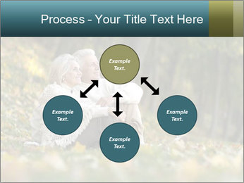 Happy old people sitting PowerPoint Template - Slide 91