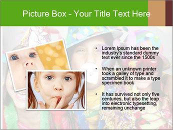Carnival kids PowerPoint Template - Slide 20