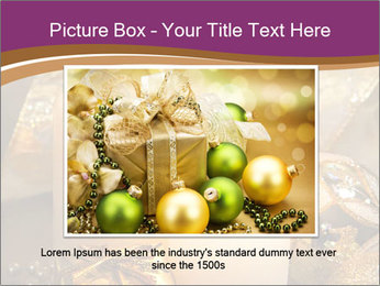 Christmas decoration PowerPoint Template - Slide 15