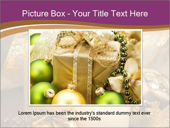 Christmas decoration PowerPoint Template - Slide 16