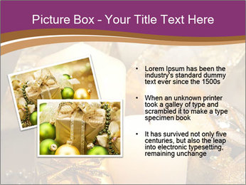 Christmas decoration PowerPoint Template - Slide 20