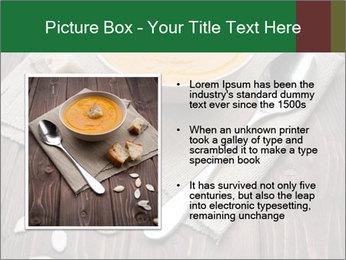 Bowl of pumpkin soup PowerPoint Templates - Slide 13