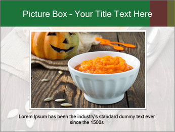 Bowl of pumpkin soup PowerPoint Templates - Slide 15