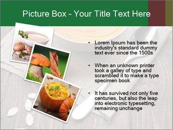 Bowl of pumpkin soup PowerPoint Templates - Slide 17