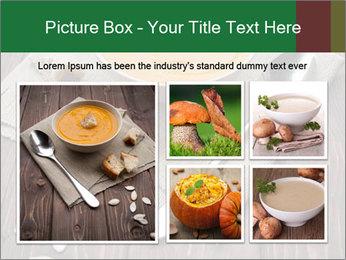 Bowl of pumpkin soup PowerPoint Templates - Slide 19
