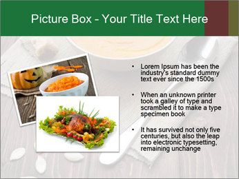 Bowl of pumpkin soup PowerPoint Templates - Slide 20