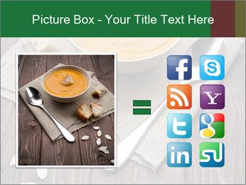 Bowl of pumpkin soup PowerPoint Templates - Slide 21