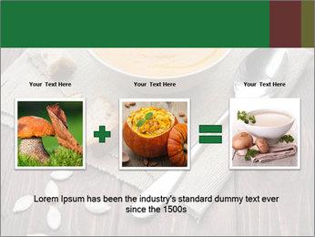Bowl of pumpkin soup PowerPoint Templates - Slide 22