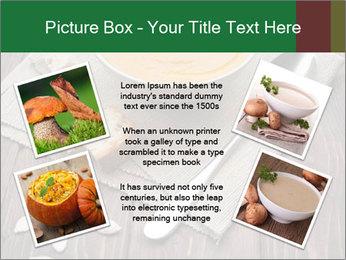 Bowl of pumpkin soup PowerPoint Templates - Slide 24