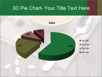 Bowl of pumpkin soup PowerPoint Templates - Slide 35