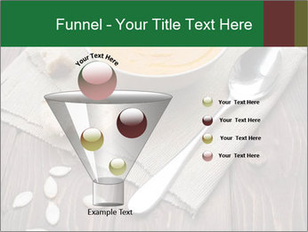Bowl of pumpkin soup PowerPoint Templates - Slide 63
