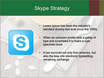 Bowl of pumpkin soup PowerPoint Templates - Slide 8