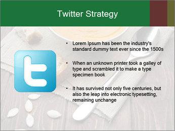 Bowl of pumpkin soup PowerPoint Templates - Slide 9