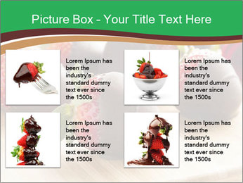Gourmet Chocolate Covered Strawberries PowerPoint Templates - Slide 14