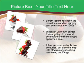 Gourmet Chocolate Covered Strawberries PowerPoint Templates - Slide 17