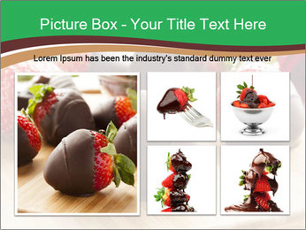 Gourmet Chocolate Covered Strawberries PowerPoint Templates - Slide 19