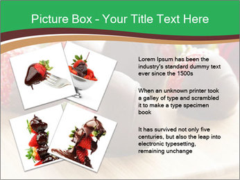 Gourmet Chocolate Covered Strawberries PowerPoint Templates - Slide 23