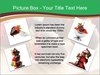 Gourmet Chocolate Covered Strawberries PowerPoint Template - Slide 24