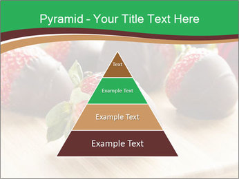 Gourmet Chocolate Covered Strawberries PowerPoint Templates - Slide 30