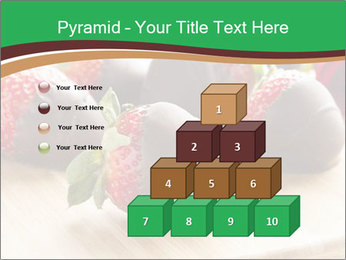 Gourmet Chocolate Covered Strawberries PowerPoint Templates - Slide 31