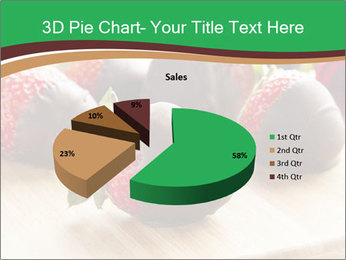 Gourmet Chocolate Covered Strawberries PowerPoint Templates - Slide 35