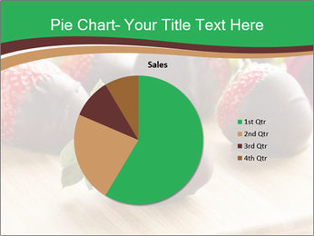 Gourmet Chocolate Covered Strawberries PowerPoint Templates - Slide 36