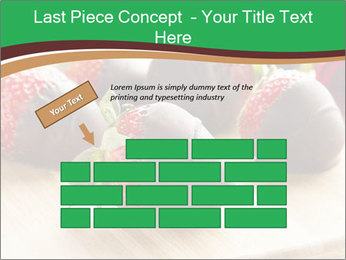 Gourmet Chocolate Covered Strawberries PowerPoint Templates - Slide 46