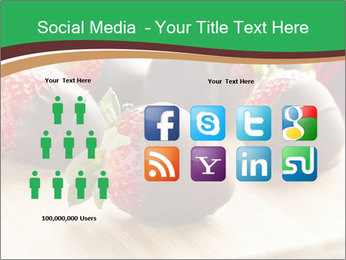 Gourmet Chocolate Covered Strawberries PowerPoint Templates - Slide 5