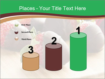 Gourmet Chocolate Covered Strawberries PowerPoint Templates - Slide 65