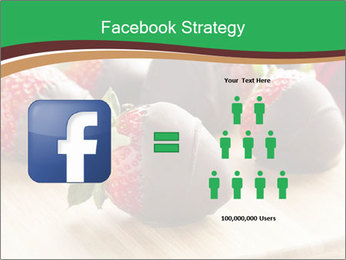 Gourmet Chocolate Covered Strawberries PowerPoint Templates - Slide 7