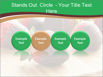 Gourmet Chocolate Covered Strawberries PowerPoint Templates - Slide 76