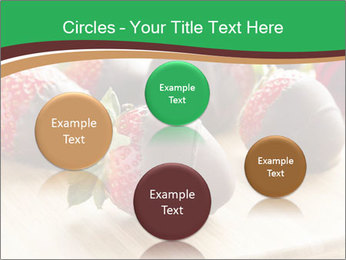 Gourmet Chocolate Covered Strawberries PowerPoint Templates - Slide 77