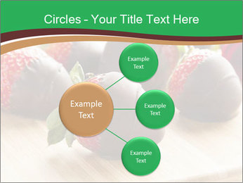 Gourmet Chocolate Covered Strawberries PowerPoint Templates - Slide 79