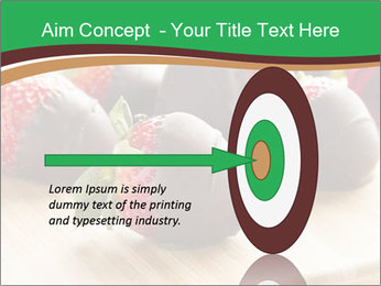 Gourmet Chocolate Covered Strawberries PowerPoint Templates - Slide 83
